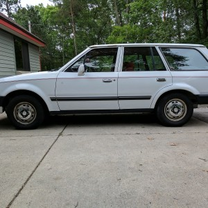 1987 Ford Escort GL Wagon
